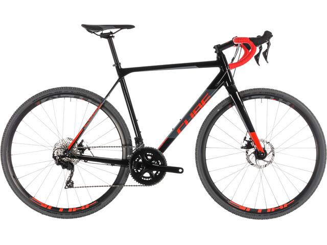 Cube Cross Race Bicicletta da ciclocross grigio/nero